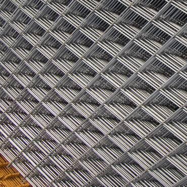 Bouwstaalmat 5-150-150mm gegalvaniseerd
