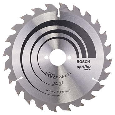 Bosch cirkelzaagblad optiline wood 24t