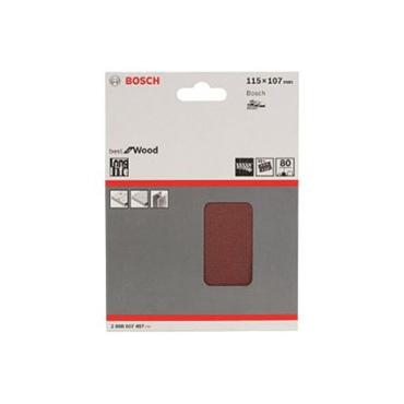 Bosch schuurblad 115x107mm