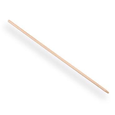 Bezemsteel blank hout