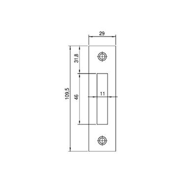 Nemef sluitplaat P636/12