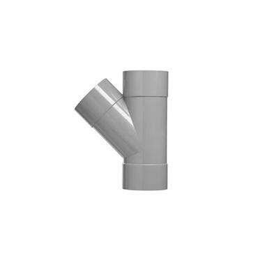 Martens T-stuk lijmmof 45°
