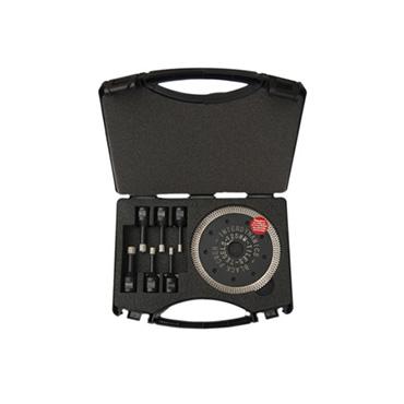 Black power wax tegelboorset 6-12mm