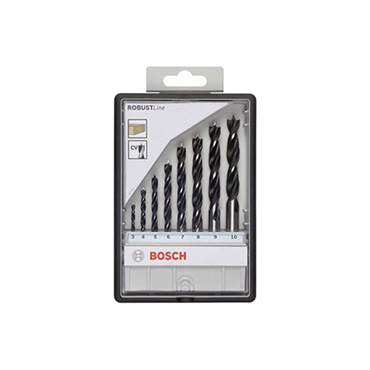 Bosch houtspriaalborenset 3-10mm