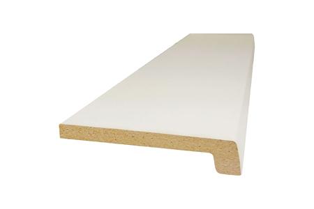 Monotop vensterbank wit zijdemat PEFC