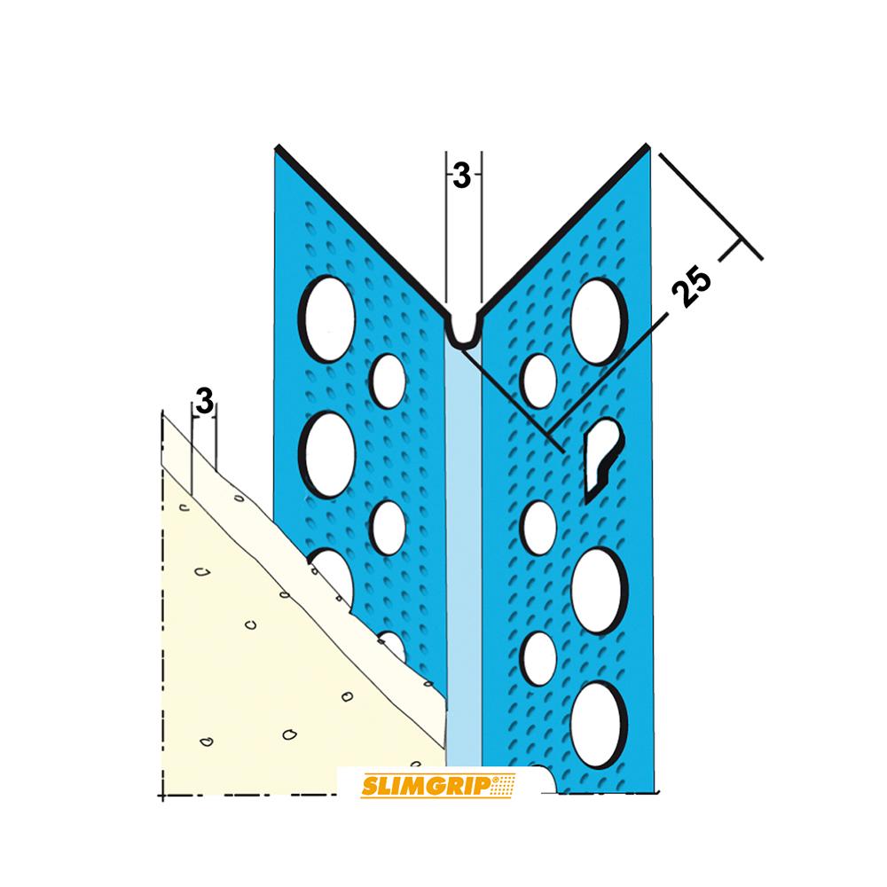 Hoekbeschermer Slimgrip 1033 3mm
