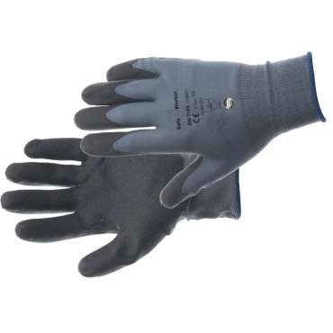 Handschoen SW7195 zwart 12 paar